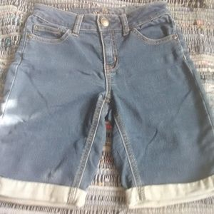 Justice 14 Slim denim shorts